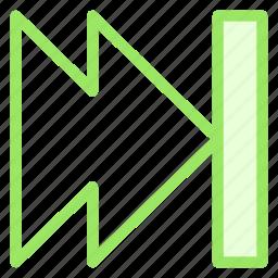 chapter, controls, nexticon icon