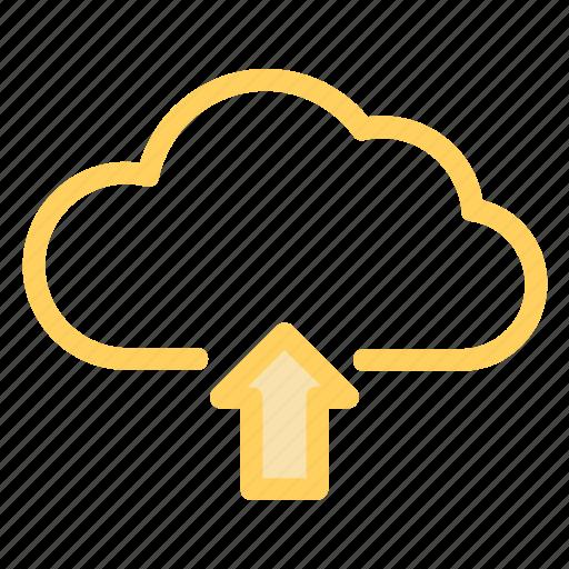 cloud, data, storage, uploadicon icon