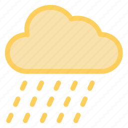 cloud, forecast, rain, weathericon icon