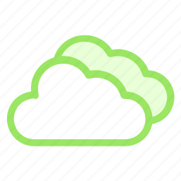 clouds, cloudy, overcast, parksicon icon