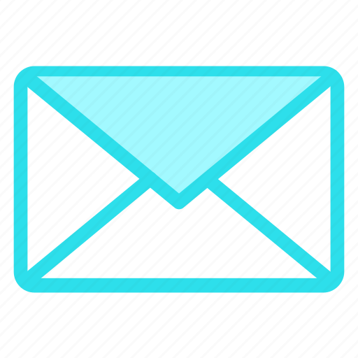 email, envelope, letter, mailicon icon