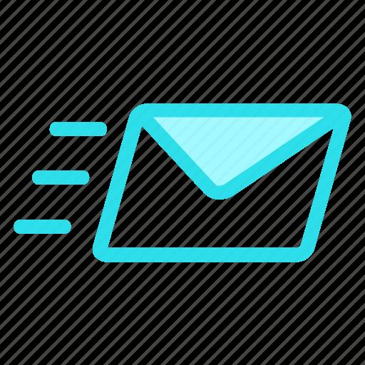 email, mail, send, senticon icon