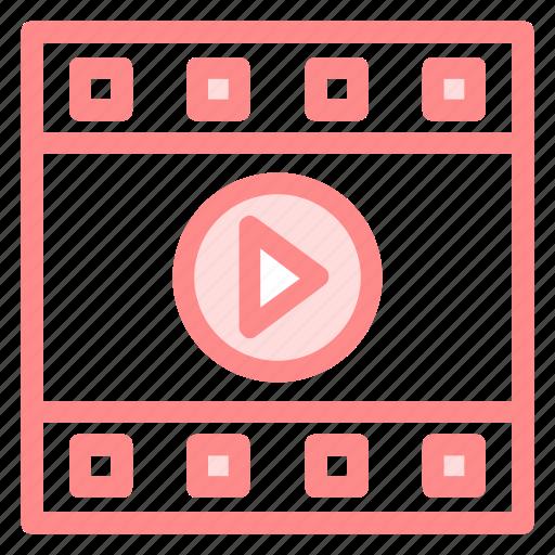 film, movie, play, videoicon icon
