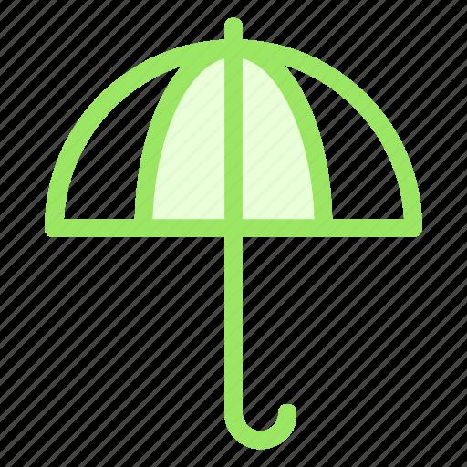 forecast, protection, rain, umbrella, weathericon icon