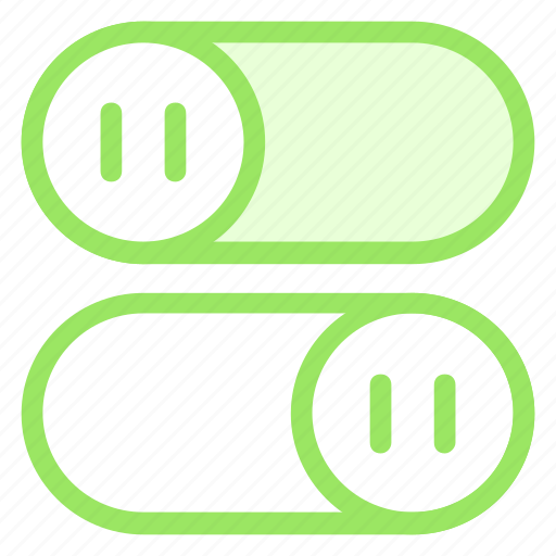 interface, off, on, switch, toggleicon icon