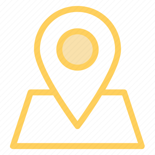 location, map, navigation, pin, stickyicon icon