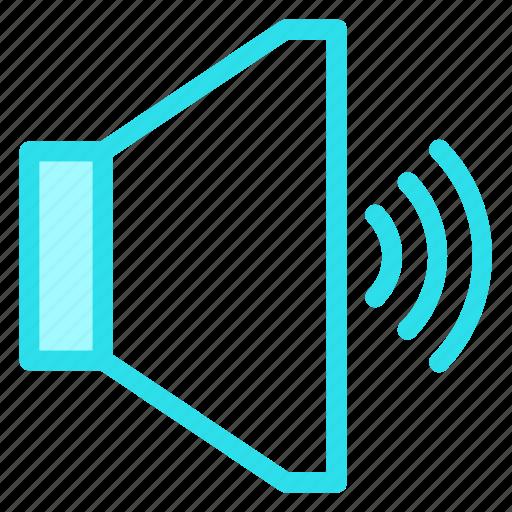 loud, music, speaker, volumeicon icon