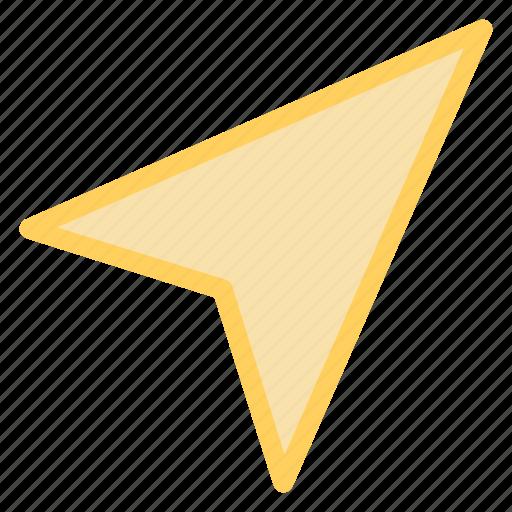 arrow, direction, navigation, senticon icon