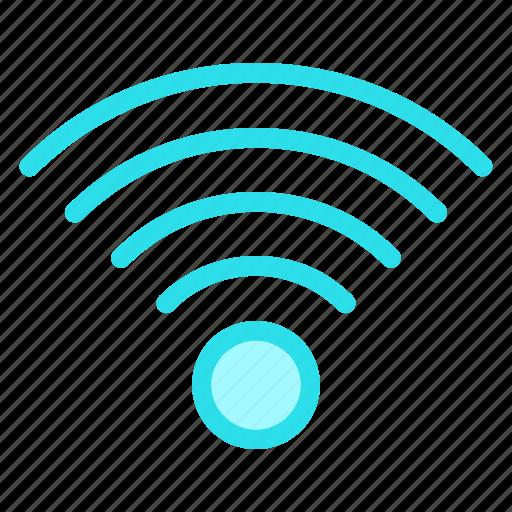 signal, technology, wifi, wirelessicon icon