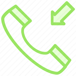 calling, incomingcall, phonecall, phonereceiver, receivericon icon