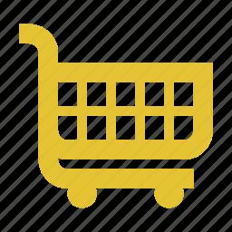 ecommerce, empty cart, online shopping, shopping cart icon
