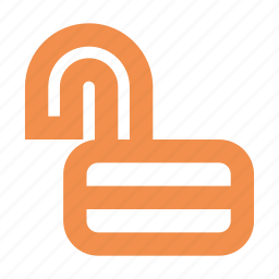 lock, padlock, unlock, unsafe icon