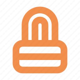lock, safe shopping, secure, security icon