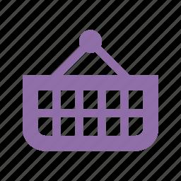 ecommerce, online shopping, shopping basket icon