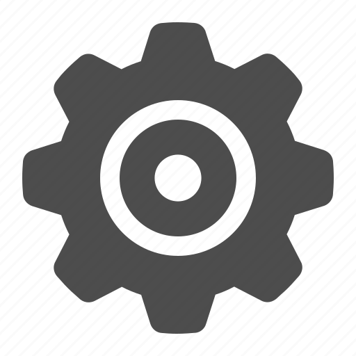 cog, gear, settings, sprocket icon