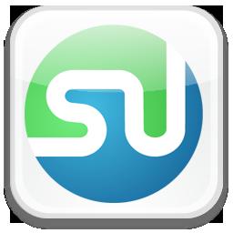 badge, stumbleupon icon