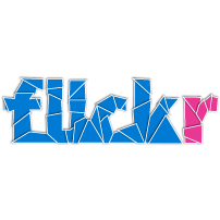 flickr, med icon