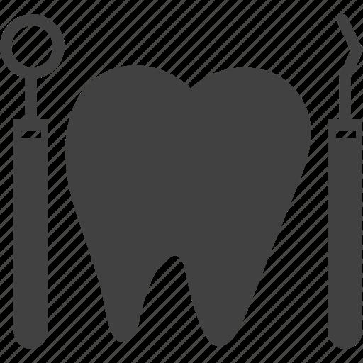 dental, dentist, dentist tool icon