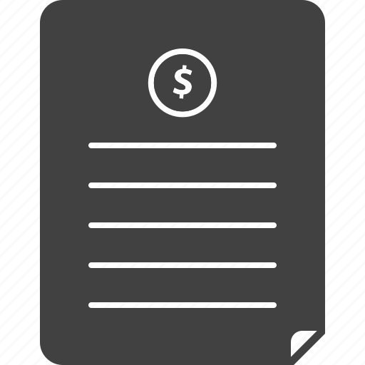 estimate, invoice, quotation, quote icon