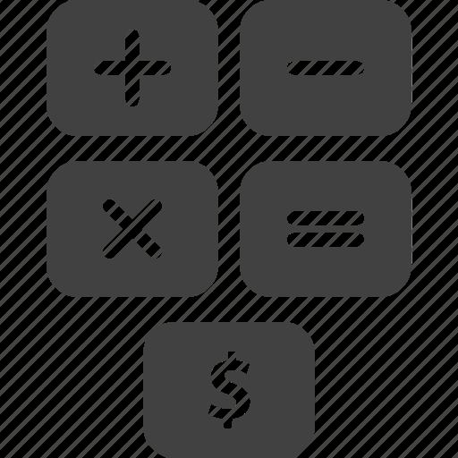 calculate, estimate, maths icon