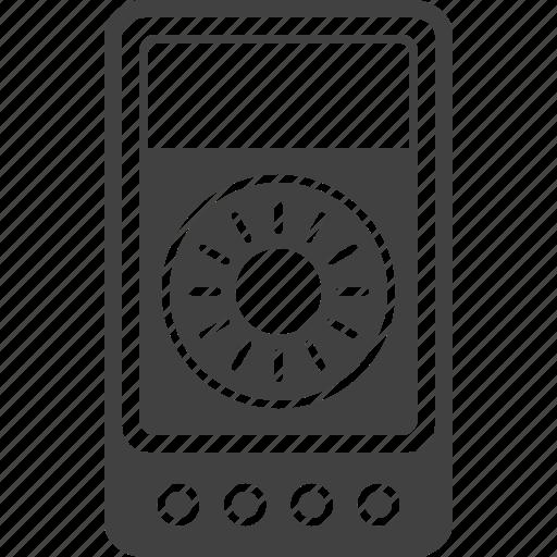 digital, meter, multimeter, voltmeter icon