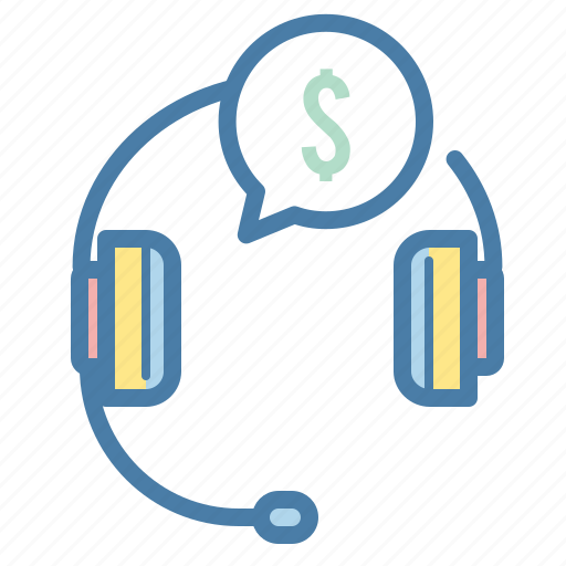 advice, business, customer, help, money, support, talk icon