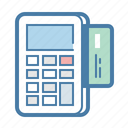checkout, credit card, machine, pay, payment, purchase, withdraw icon