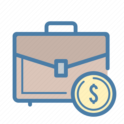 bag, budget, case, dollar icon
