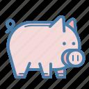 saving, pig, piggy, money box