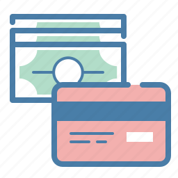 business, cash, credit card, money, pay, payment method, purchase icon