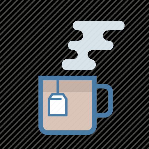 break, coffee, cup, drink, mug, tea, tea bad icon