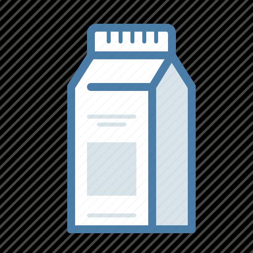 box, coffee, drink, liquid, milk, package icon