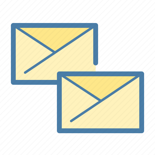 communication, email, emails, envelopes, feed, news, office icon