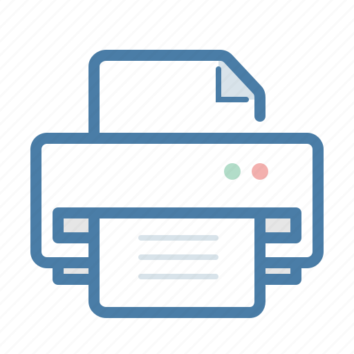 document, machine, office, paper, print, printer, text icon
