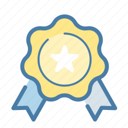 award, best, empleyee, medal, office, prize, top icon