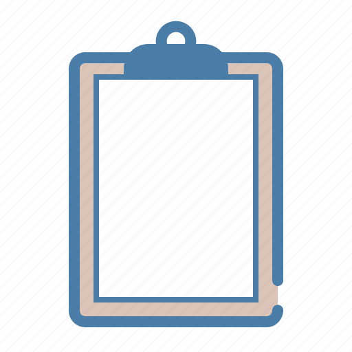 clipboard, document, empty, file, office, page, paper icon