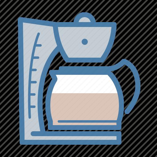 break, coffee, drink, filtration, machine, office, pot icon