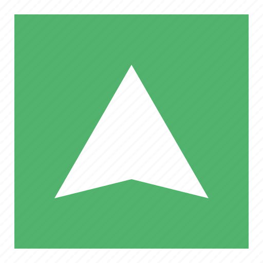 Direction, follow, location, map, search icon - Download on Iconfinder
