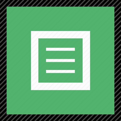 burger, data, document, menu icon