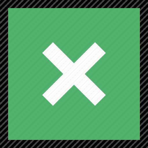 cancel, close, delete, website icon