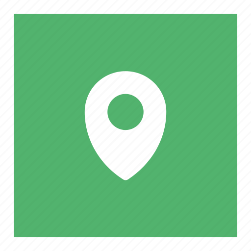 direction, location, map, point, website icon