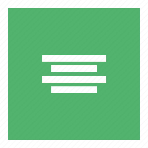 Align, align center, document, text, website icon - Download on Iconfinder