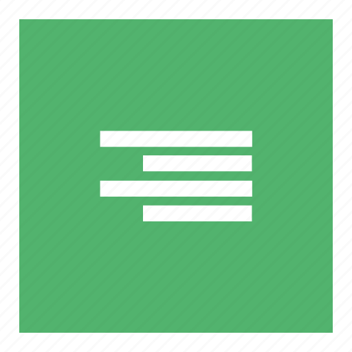 Align, align right, document, website, word icon - Download on Iconfinder