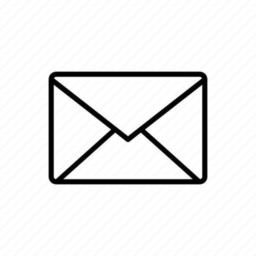 contact, email, letter, mail, post icon