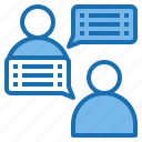 chat, connection, internet, message, talk, template, website icon