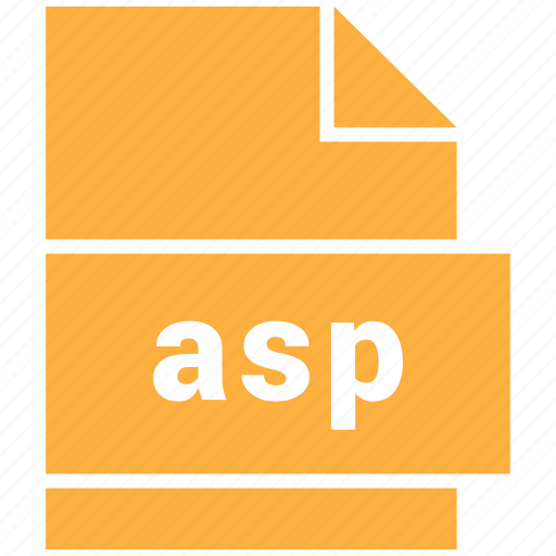 asp, data format, filetype, website file format icon