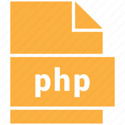 code, php, website file format icon