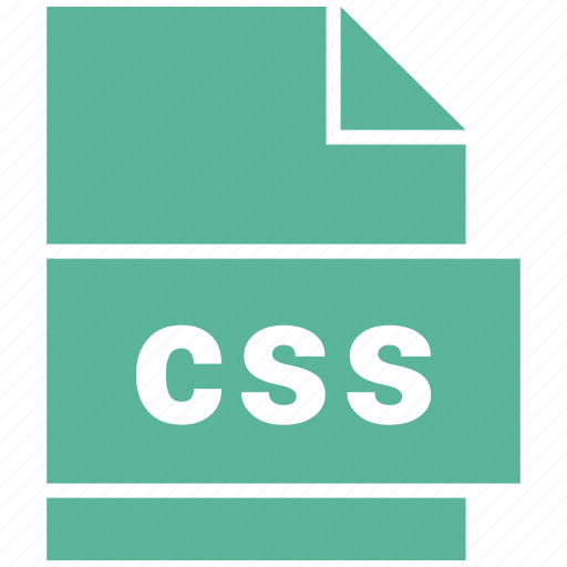 css, file, website file format icon