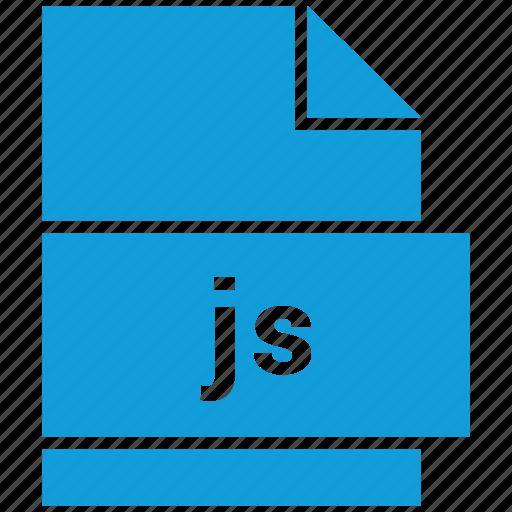 filetypes, javascript, js, website file format icon