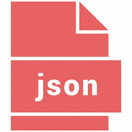filetypes, json, website file format icon